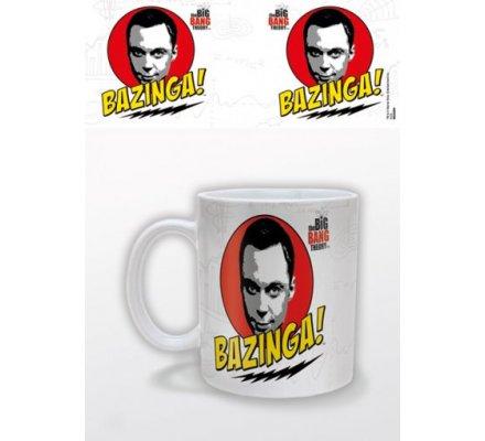 Mug Blanc Bazinga The Big Bang Theory