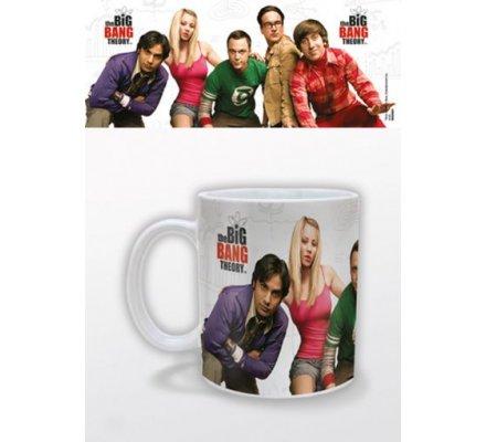 Mug Blanc Cast The Big Bang Theory