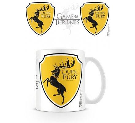 Mug Blanc Céramique Baratheon Game of Thrones