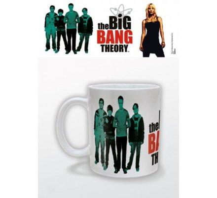 Mug Blanc Green The Big Bang Theory