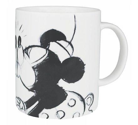 Mug Blanc Mickey et Minnie Kissing Disney