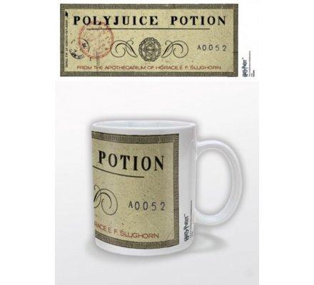 Mug Blanc Polyjuice Potion Harry Potter