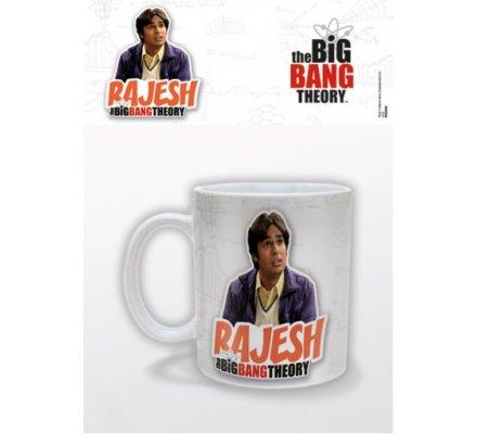 Mug Blanc Rajesh The Big Bang Theory