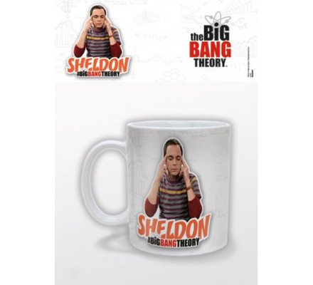 Mug Blanc Sheldon The Big Bang Theory