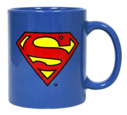 Mug Bleu Logo Superman