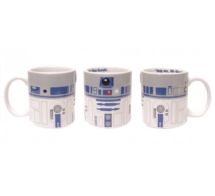 Mug Céramique 2D R2-D2 Star Wars