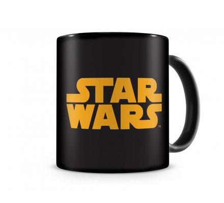 Mug Céramique Noir Logo Orange Star Wars
