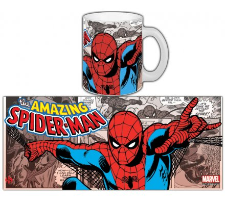 Mug Comics Retro Spiderman