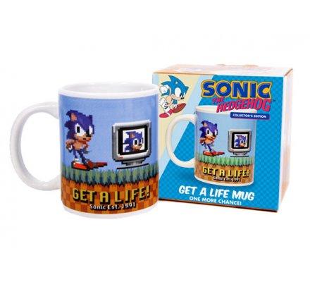Mug Get a Life Sonic