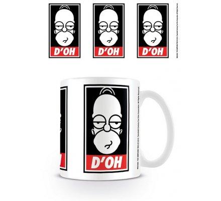 Mug Homer D'OH Simpsons