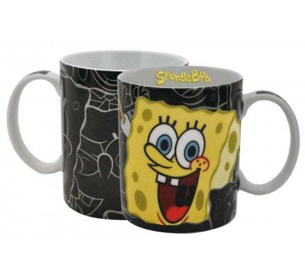 Mug Noir Bob l'éponge