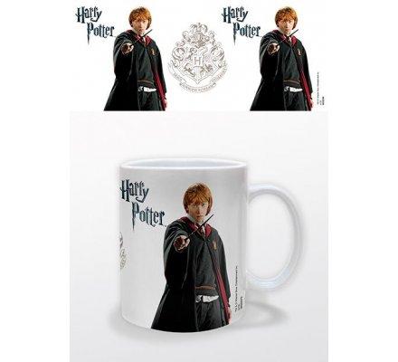 Mug Ronald Weasley Blanc Harry Potter