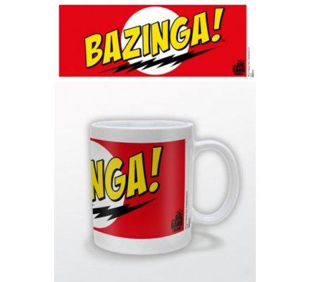 Mug Rouge Bazinga The Big Bang Theory
