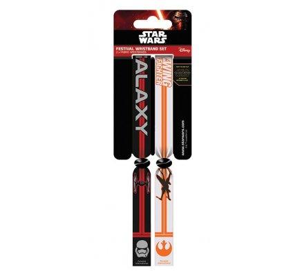 Pack de 2 Bracelets Resistance Vs First Order Star Wars