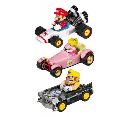 Pack de 3 Voitures à Friction Mario Kart Nintendo