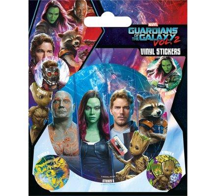 Pack de 5 Stickers Gardiens de la Galaxie
