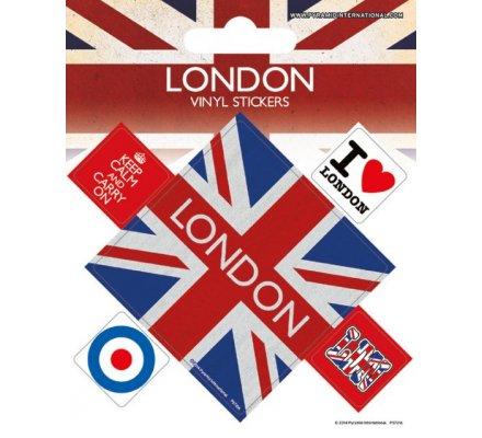 Pack de 5 Stickers Londres