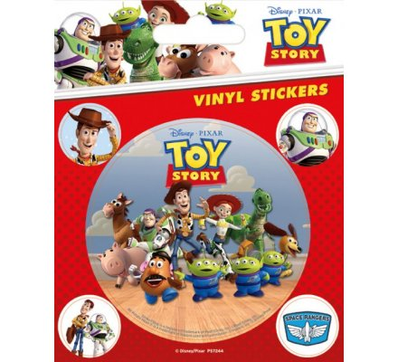 Pack de 5 Stickers Toy Story