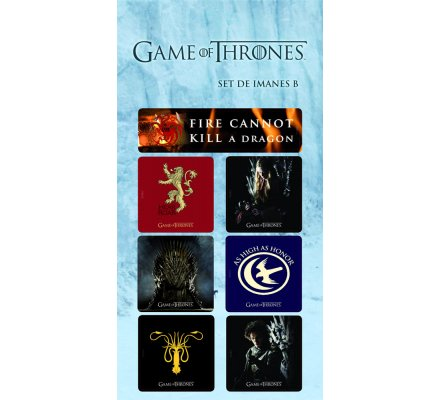 Pack de 6 Magnets Game of Thrones