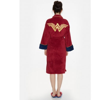 Peignoir Adulte Femme Wonder Woman