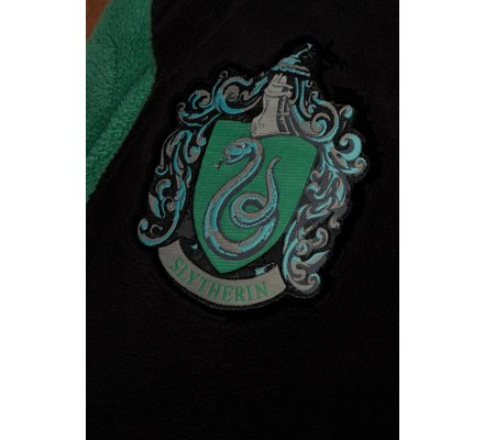 Peignoir Adulte Serpentard Harry Potter