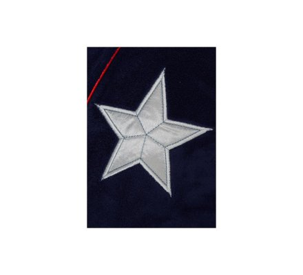 Peignoir enfant Bleu Shield logo Captain America