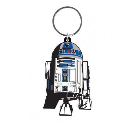 Porte-clés Caoutchouc R2-D2 6 cm Star Wars