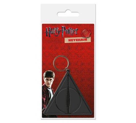 Porte-clés Caoutchouc Reliques de la Mort Harry Potter
