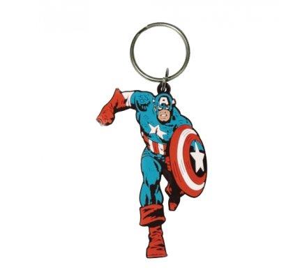 Porte-clés Running 6cm Captain America