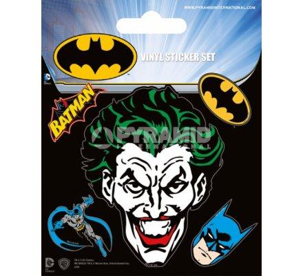 Pack de 5 Stickers Batman