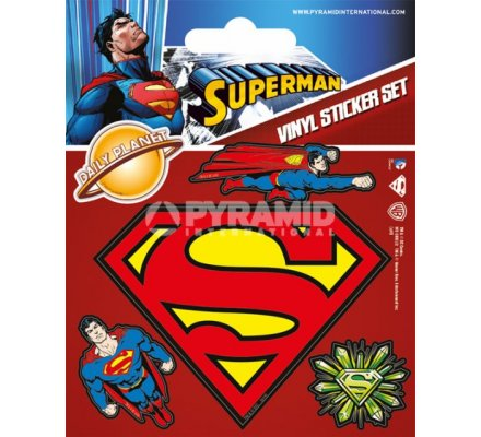 Pack de 5 Stickers Superman