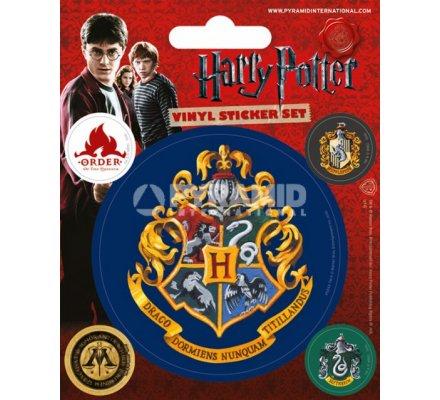 Pack de 5 Stickers Serpentard Harry Potter