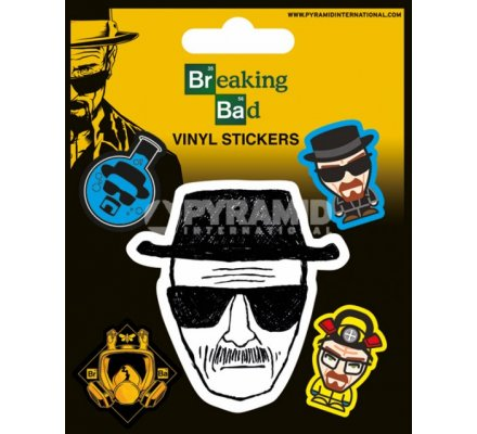 Pack de 5 Stickers Heisenberg Breaking Bad