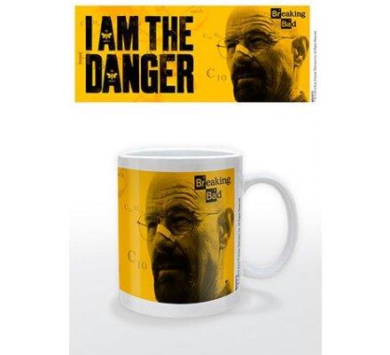 Mug blanc I Am The Danger Breaking Bad
