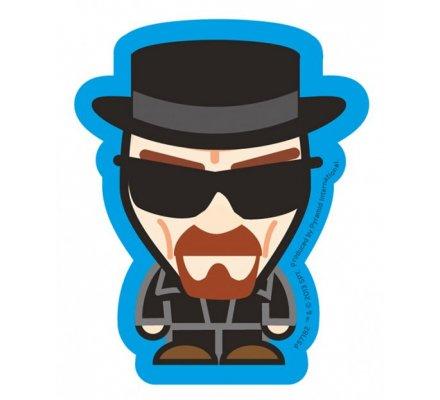 Sticker vinyle Heisenberg bleu Breaking Bad