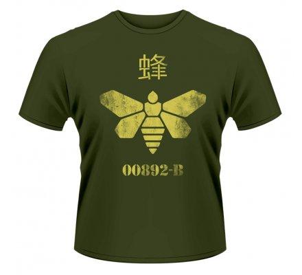 Tee-Shirt Kaki Abeille Baril Breaking Bad