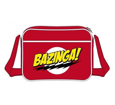 Sac à Bandoulière Rouge Bazinga The Big Bang Theory