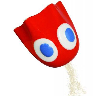 Salière et Poivrière Fantômes Bleu et Rouge Pacman