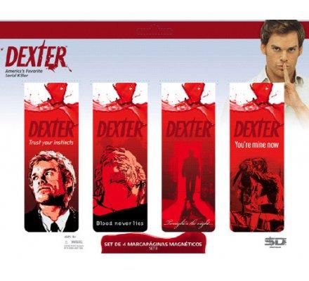 Set Aimants Marque Pages B Dexter