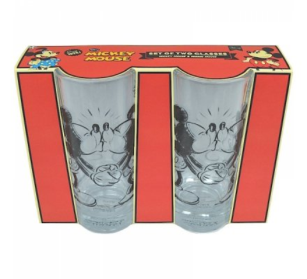 Set de 2 Verres Mickey et Minnie Kissing Disney