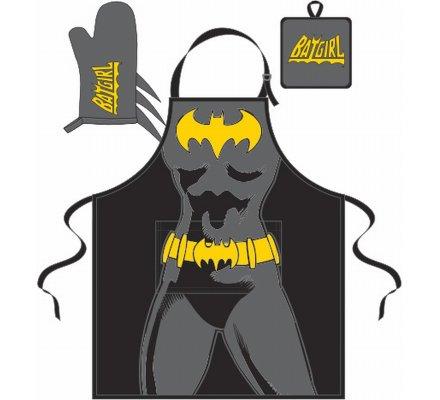 Set Tablier Manique et Gant Comics Batgirl
