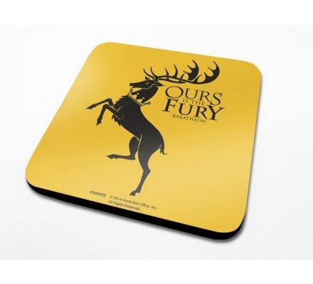 Sous-Verre Baratheon 10 x 10cm Game of Thrones