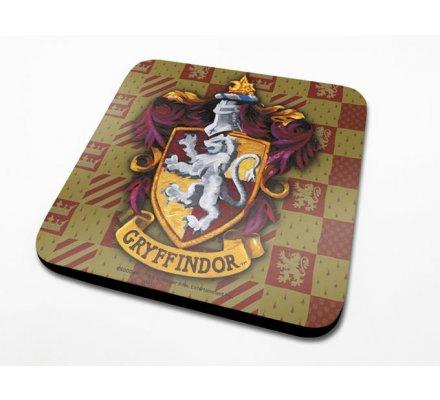 Sous-Verre Gryffondor 10 x 10cm Harry Potter
