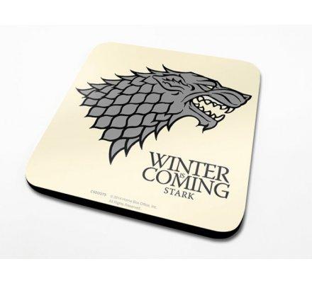 Sous-Verre Stark 10 x 10cm Game of Thrones