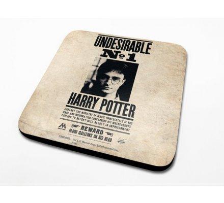 Sous-Verre Undesirable 10 x 10cm Harry Potter