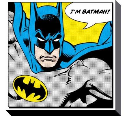 Tableau Toile Batman 40X40 Batman
