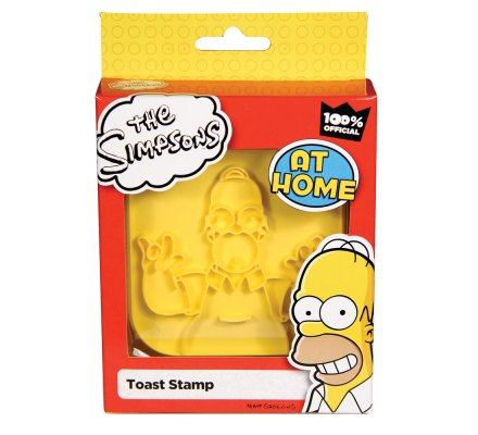 Tampon pour Toast Homer Simpsons