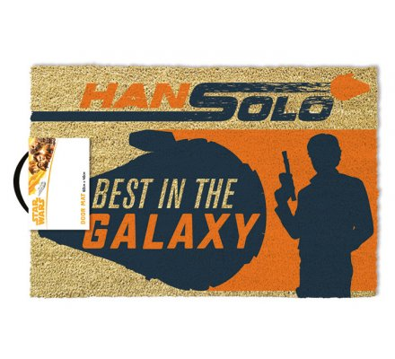 Tapis Paillasson Star Wars Han Solo Best in the Galaxy