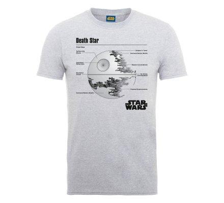 Tee-Shirt Blanc Death Star Star Wars