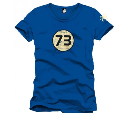 Tee-Shirt Bleu 73 Perfect The Big Bang Theory